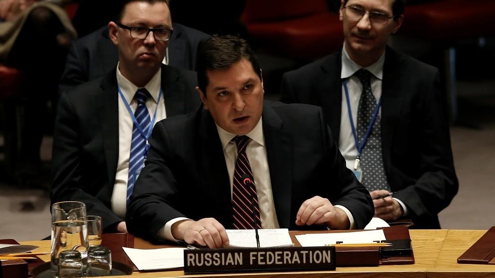 نائب مندوب روسيا لدى الأمم المتحدة  فلاديمير سافرونكوف