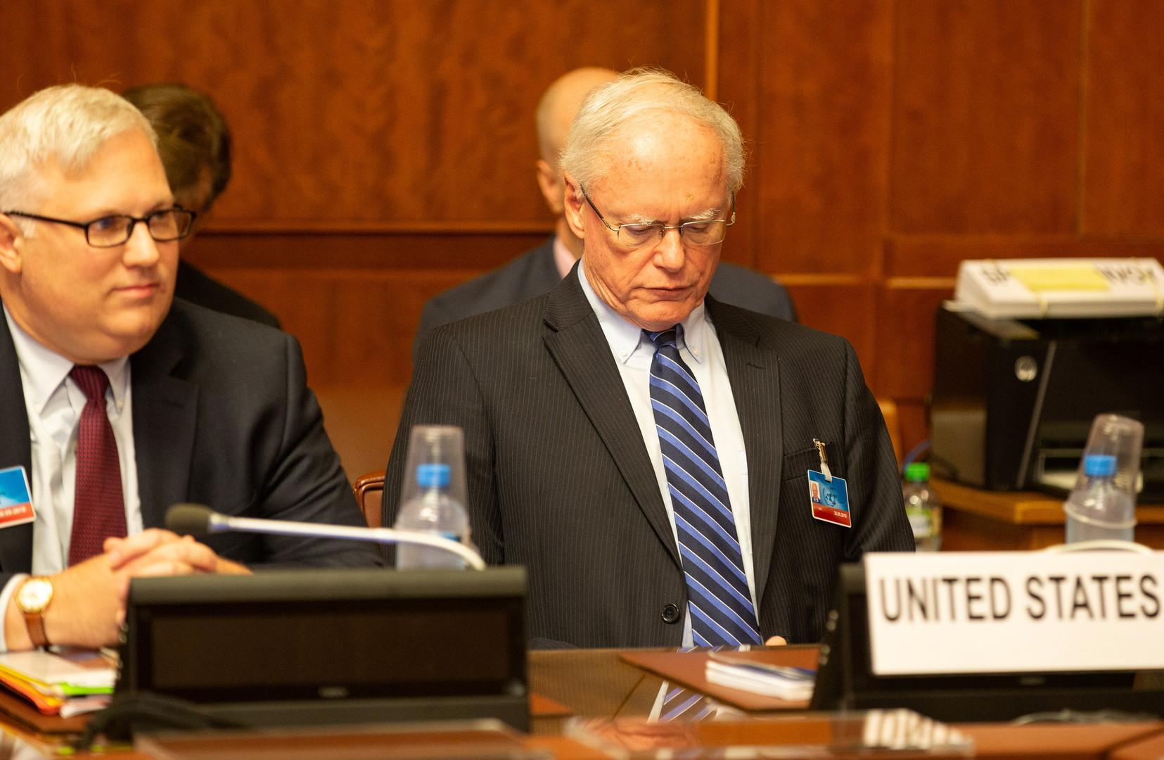 المبعوث الأمريكي إلى الشأن السوري جيمس جيفري