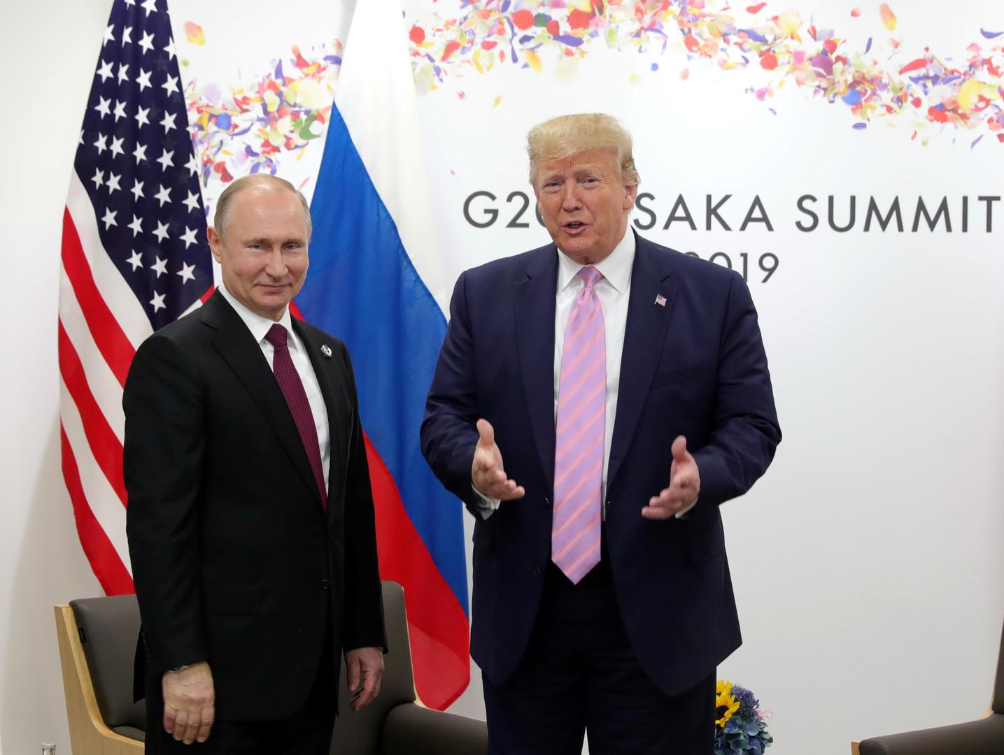 بوتين يدعو ترامب لزيارة روسيا خلال الاحتفالات بالذكرى الـ75 للانتصار على النازية