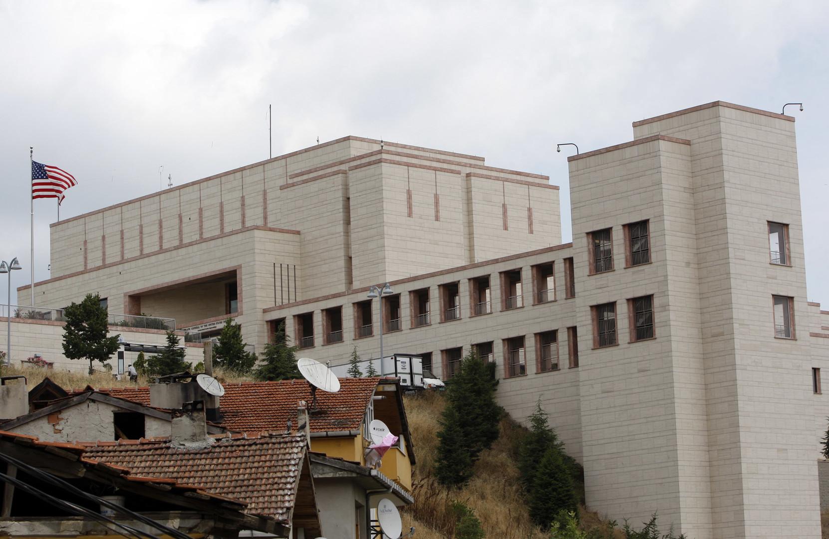 القنصلية الأمريكية في اسطنبول -أرشيف