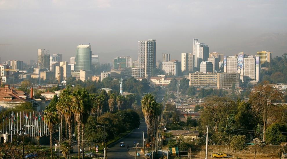 العاصمة الإثيوبية أديس أبابا