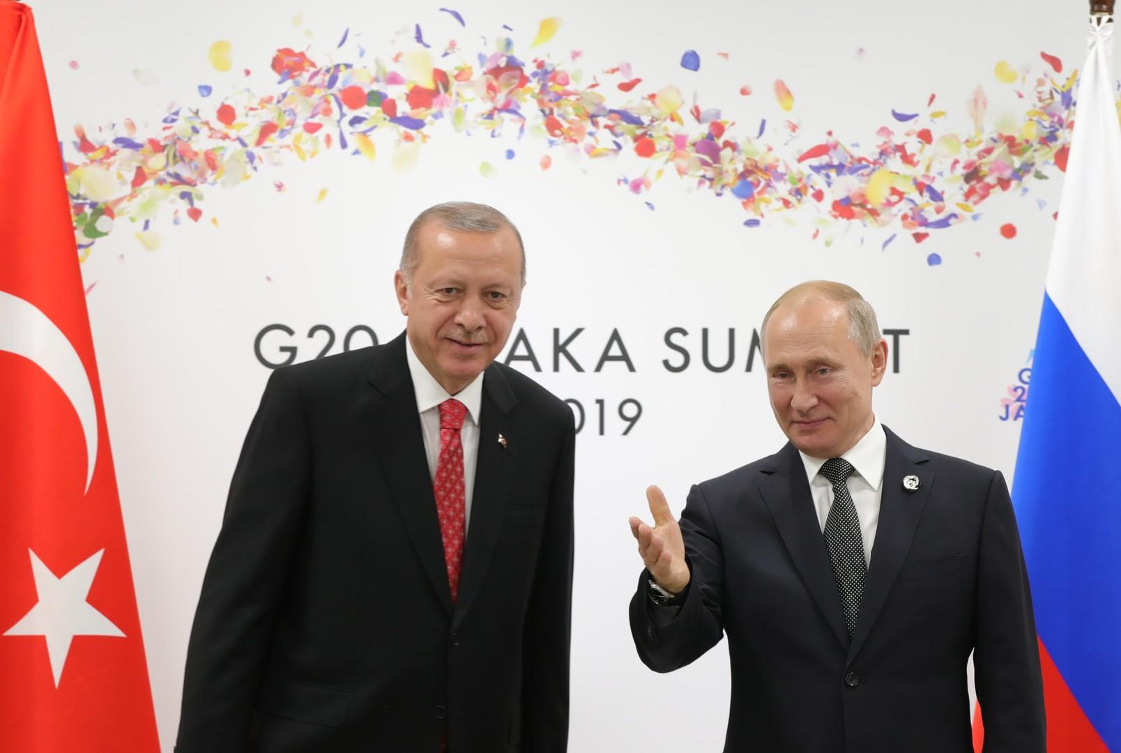 أردوغان: عملية توريد منظومة صواريخ