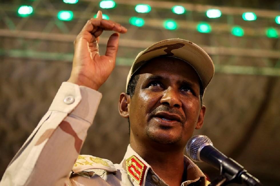 حميدتي: المجلس العسكري ليس امتدادا لنظام البشير ولا يقف بوجه المتظاهرين