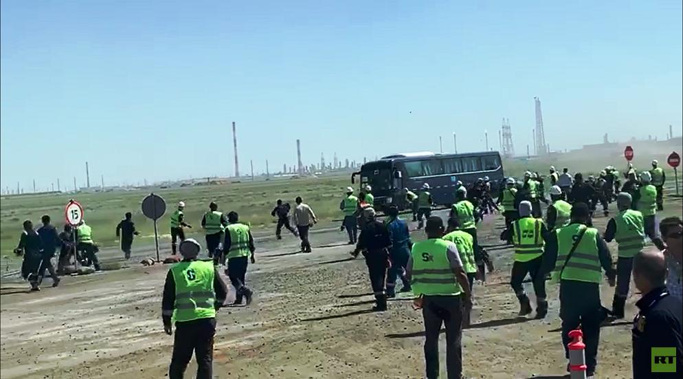 اعتداء على مهندسين أردنيين وعرب في كازاخستان