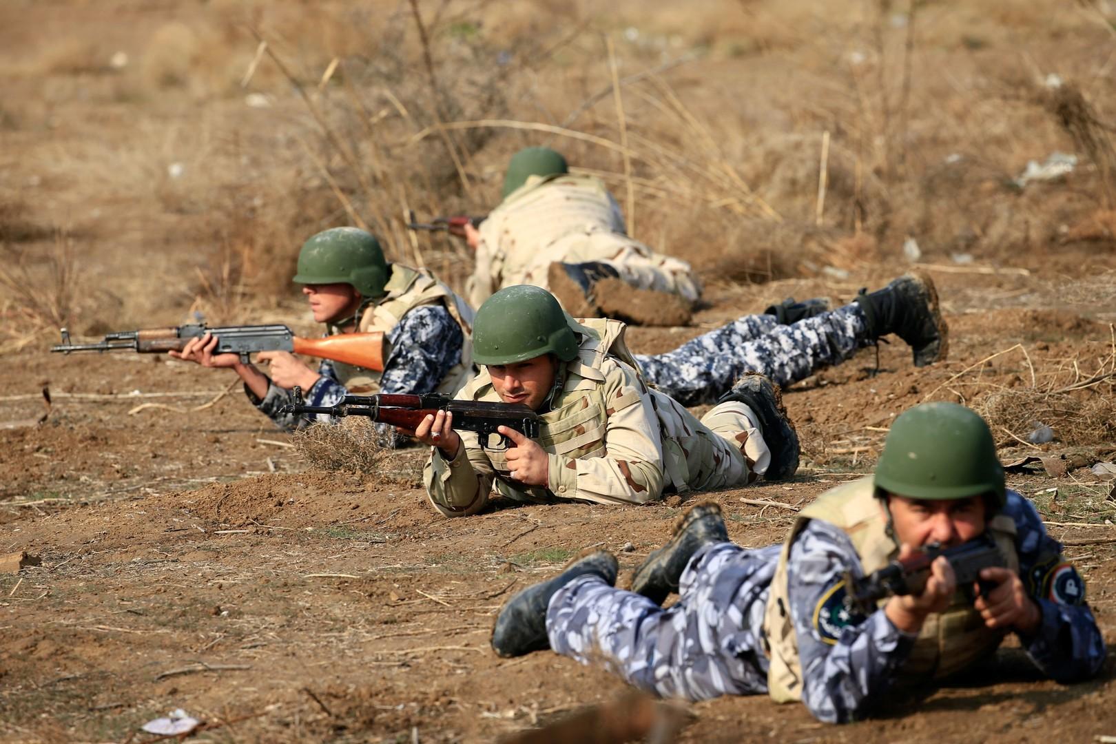 عناصر أمن عراقي في نينوى