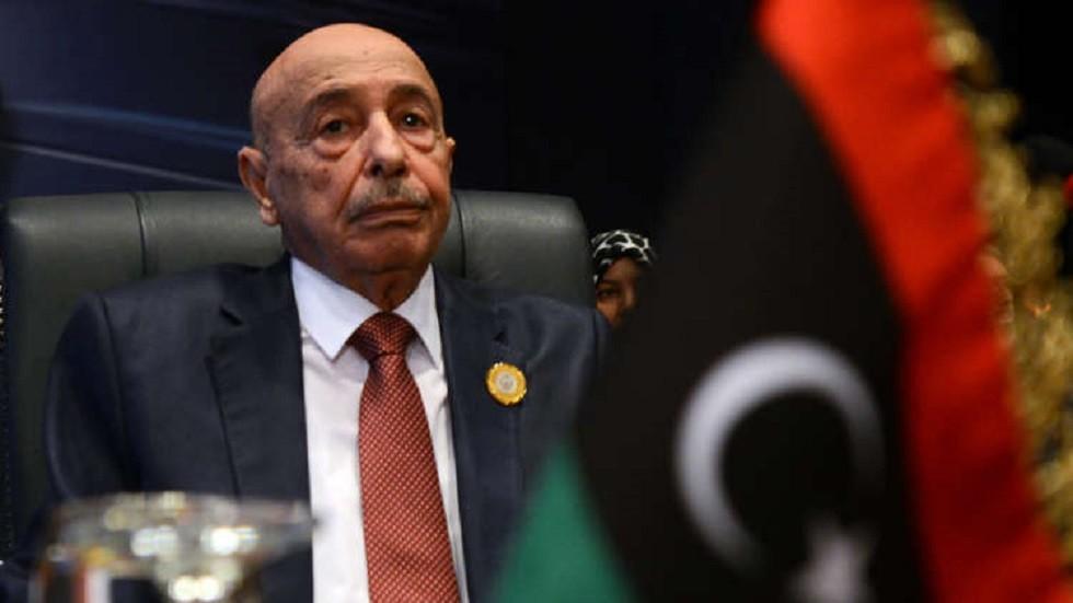 القائد الأعلى للقوات المسلحة الليبية المستشار، عقيلة صالح