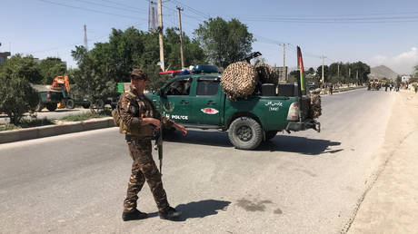 killed and wounded by a powerful explosion targeting a bus carrying government employees in kabul