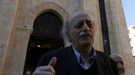 """Embassy of Russia in Lebanon responds to the news """"Jumblatt's fabricated message to Netanyahu"""""""