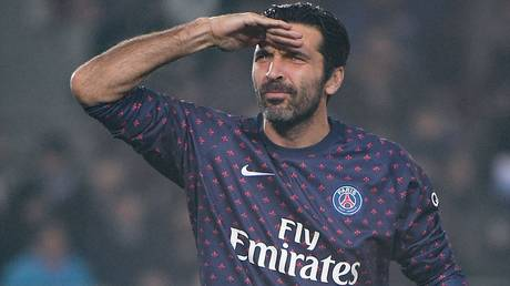buffon rejects the request of rome legend