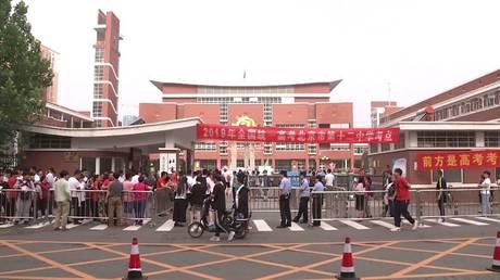 Gaukao university exam frightens Chinese!