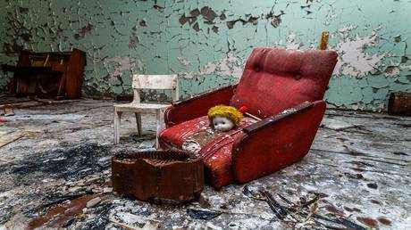 """""""the girl of chernobyl"""" .. the story of the only child born in the restricted area"""