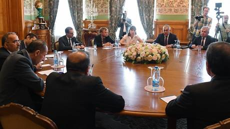 verchinen discusses formation of the syrian constitutional committee with an iranian official