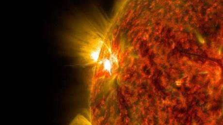 """first heard the """"voice"""" of the sun"""
