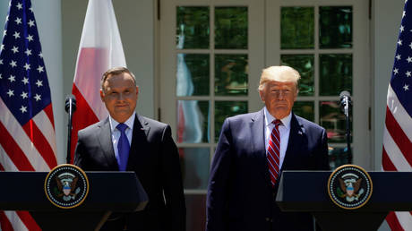 Trump: Poland will build a military base to accommodate 1,000 additional US troops