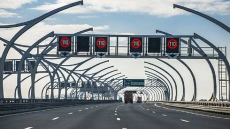 The possibility of raising the maximum speed in the Russian roads paid