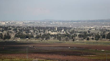 """the israeli government approves the """"trump plateau"""" in the occupied syrian golan heights"""
