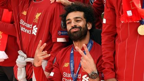 """Liverpool """"sing"""" after Egypt's victory over Guinea led by Pharaoh Salah"""