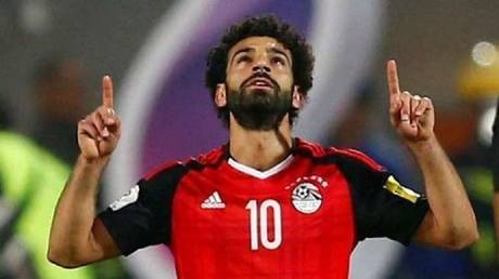 See .. Encouraged Egyptian disabled people crying after shaking hands with Salah