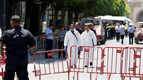 """The organization """"Da'ash"""" claimed responsibility for the suicide bombings in the Tunisian capital"""