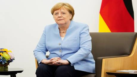 "A spokeswoman for Merkel confirms that she is ""in good health"" after a bout of tremors spotted by cameras"