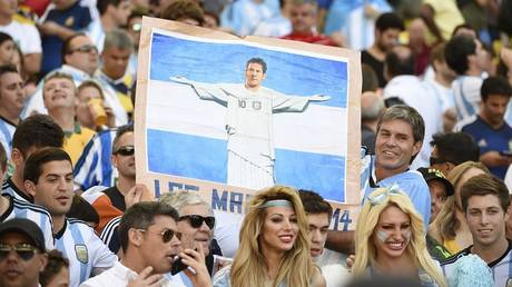 """""""Copa America 2019"""" .. The starting line of the match Argentina and Venezuela"""
