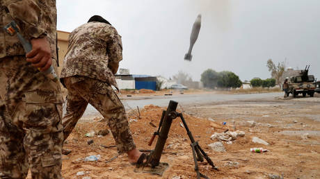 Hafar's forces announce the overthrow of Dron to Turkey and accuse it of trying to invade Libya