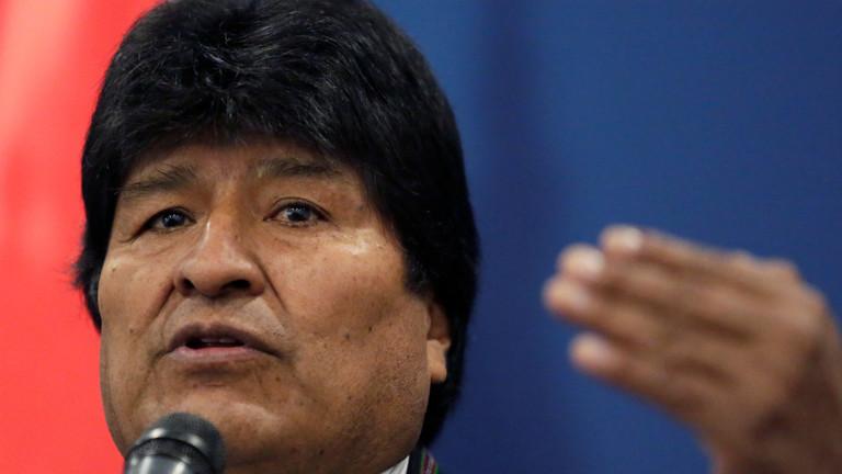 رئيس بوليفيا ينصح ترامب أن يتعلم احترام الشعوب الأخرى ويكون أكثر إنسانية