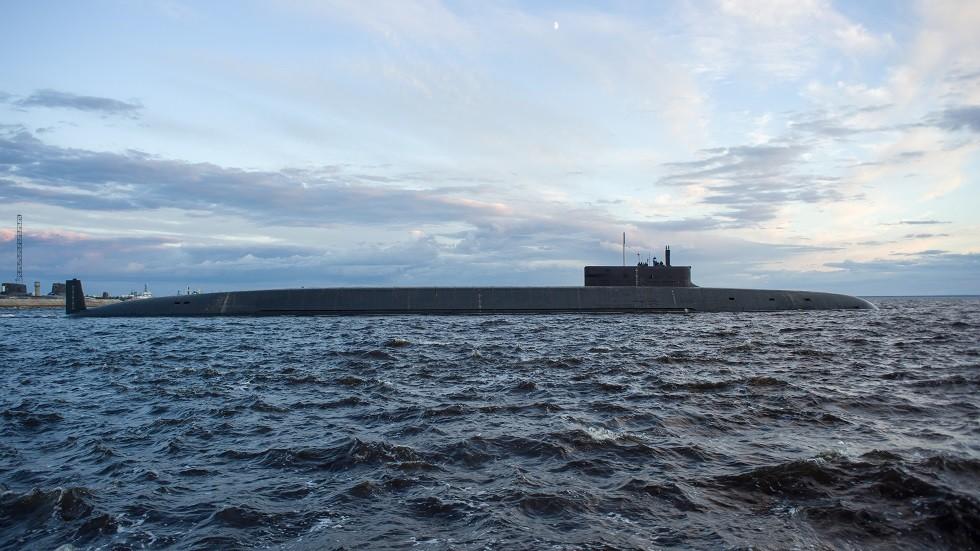صورة أرشيفية لإحدى الغواصات النووية الروسية