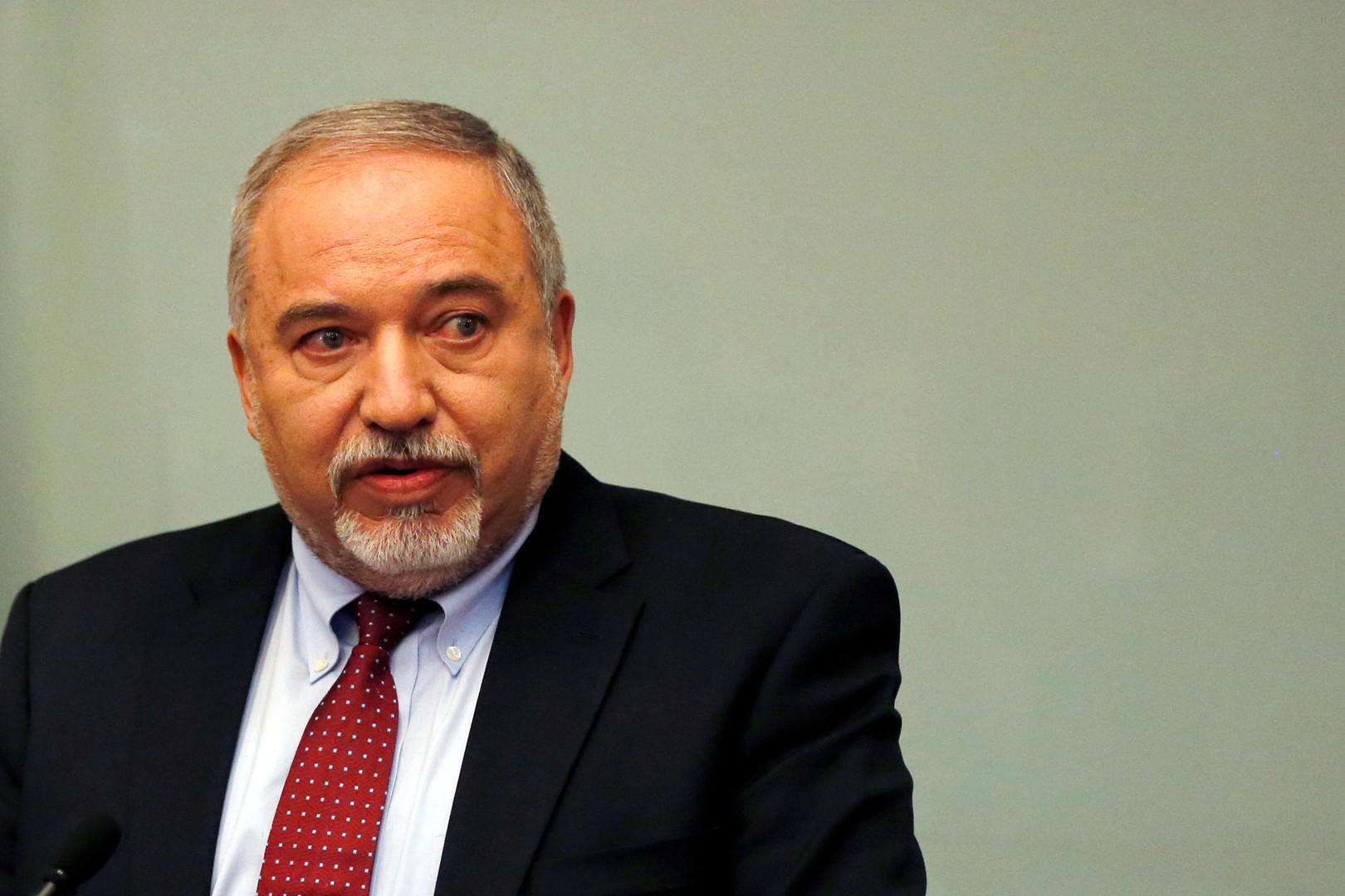رئيس حزب إسرائيل بيتنا عضو الكنيست أفيغدور ليبرمان