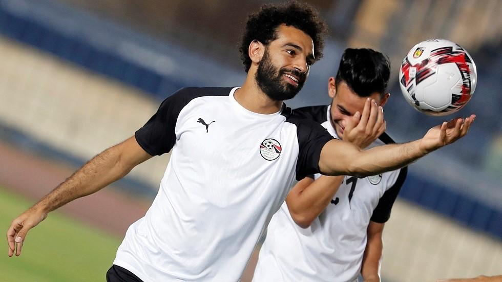 صلاح ينتقل إلى حمام السباحة بعد مباراة مصر الأخيرة (صورة)