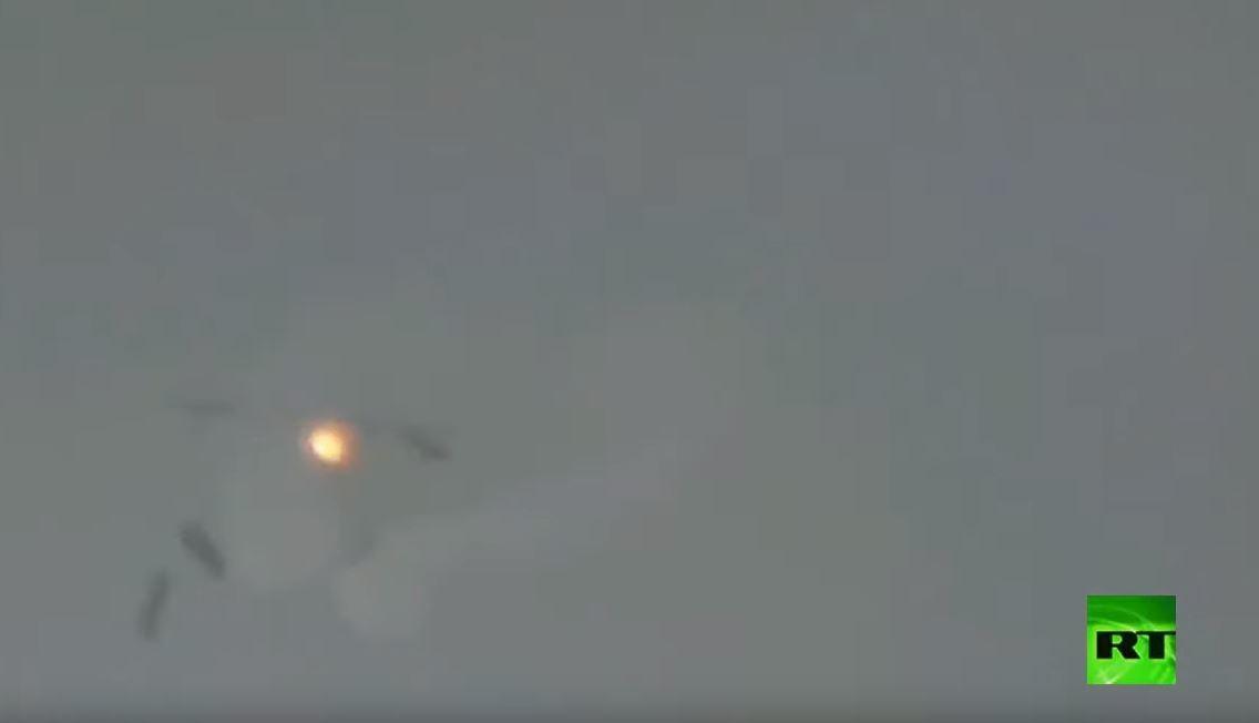 طائرة حربية هندية تتعرض لموقف خطير