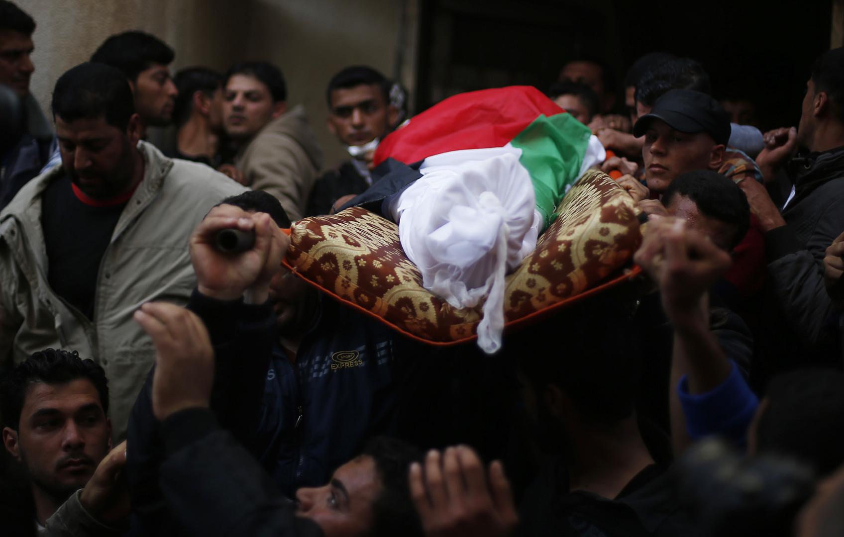 تشييع فتى فلسطيني- أرشيف