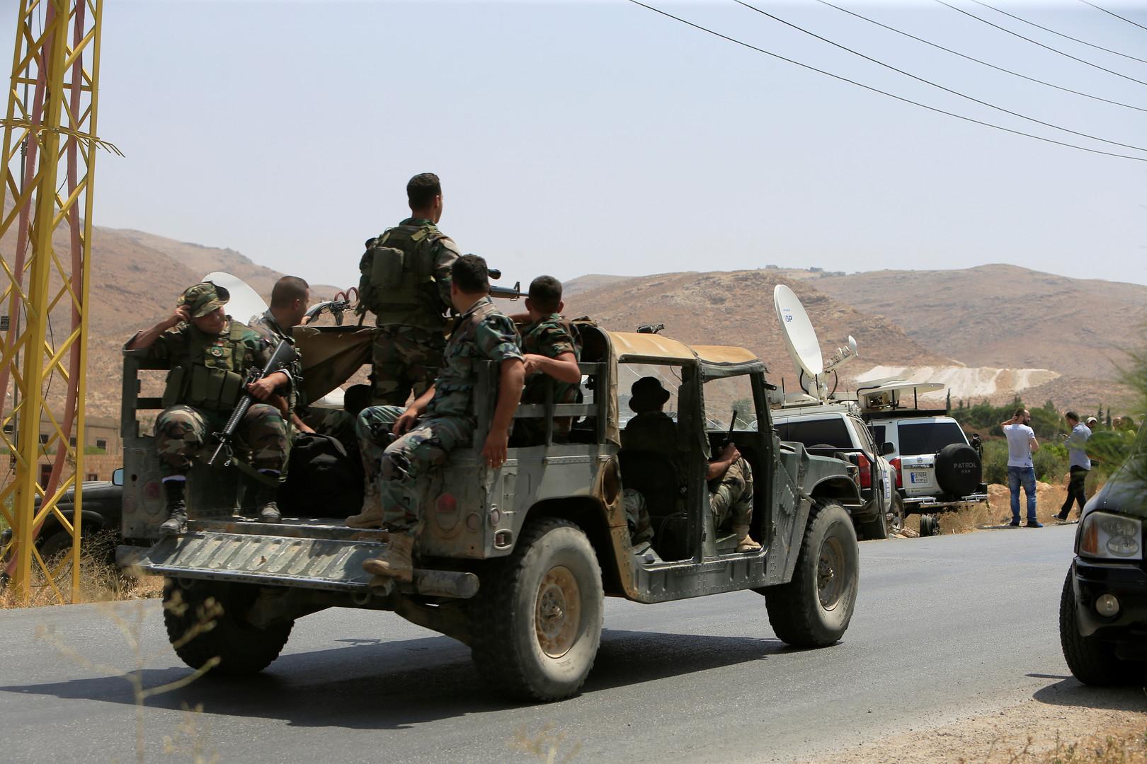 دورية للجيش اللبناني