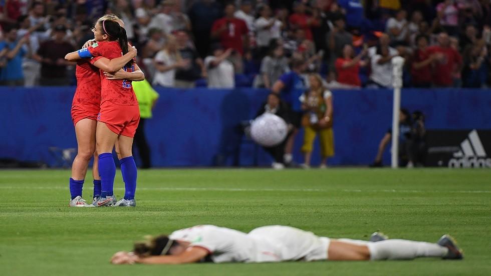 أمريكا تتأهل إلى نهائي كأس العالم للسيدات