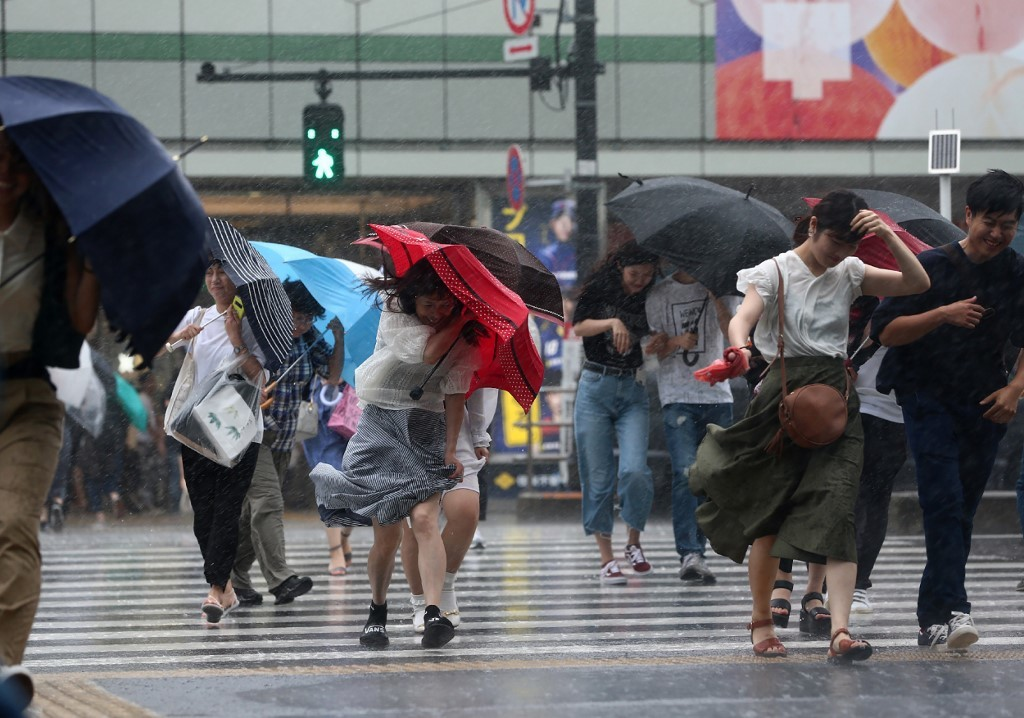 إجلاء 800 ألف شخص في اليابان بسبب خطر الفيضانات