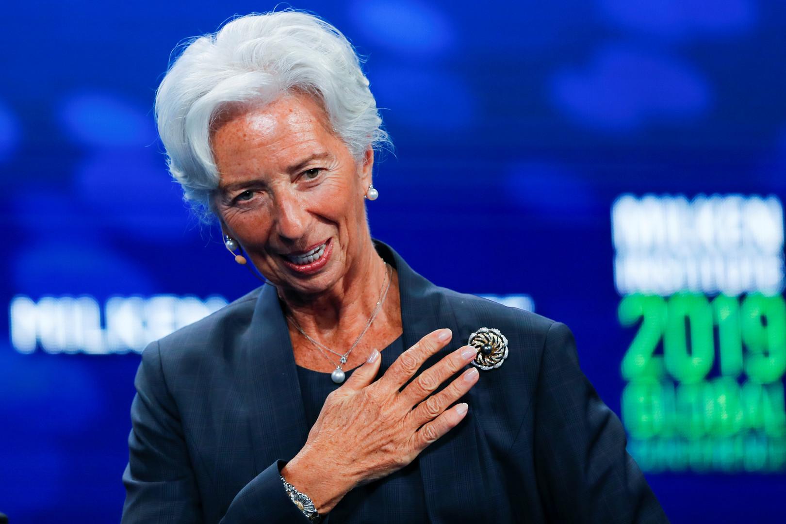 لاغارد رئيسة جديدة للبنك المركزي الأوروبي