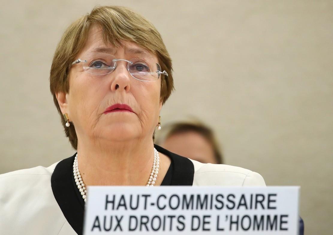 مفوضة الأمم المتحدة السامية لحقوق الإنسان، ميشيل باشليت