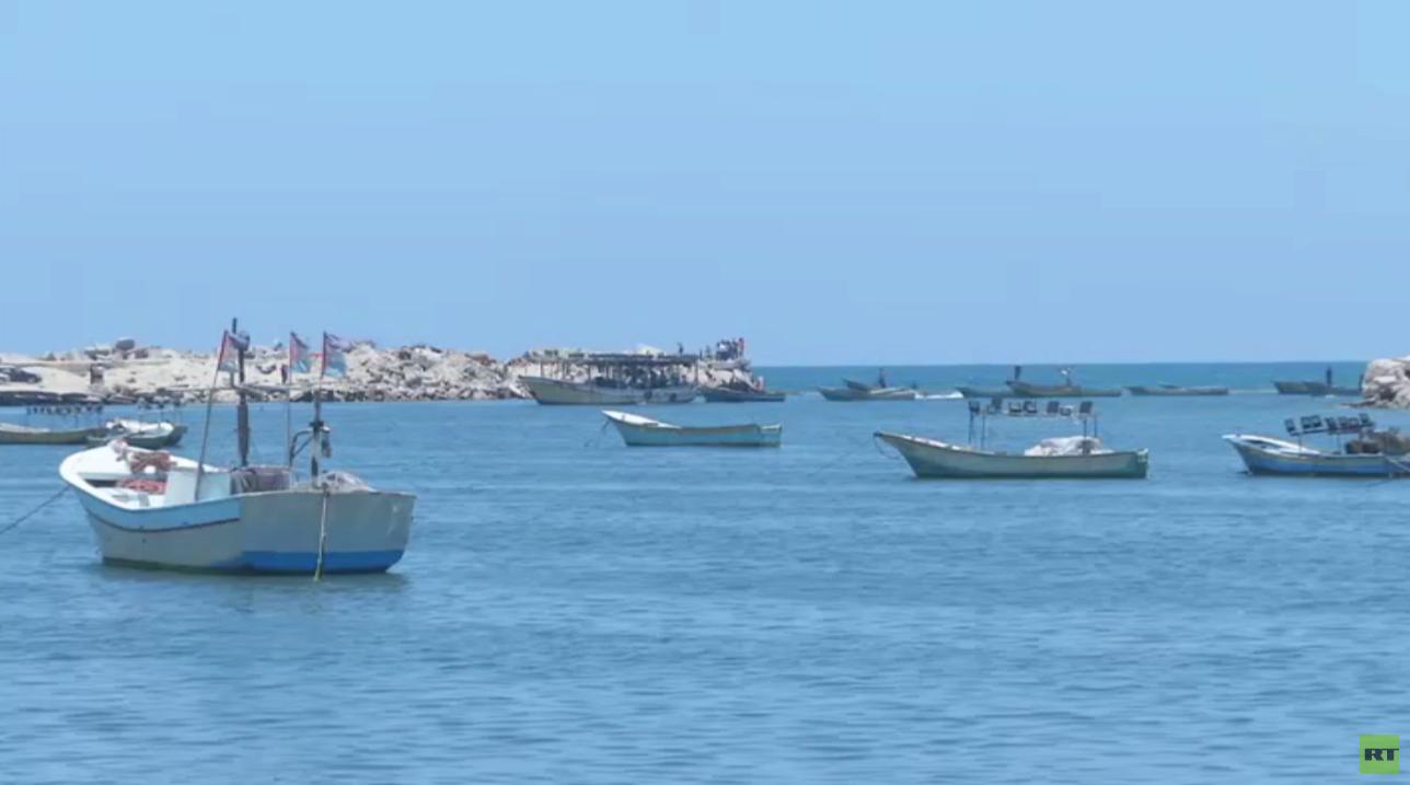 إسرائيل تفرج عن 20 قارب صيد في غزة
