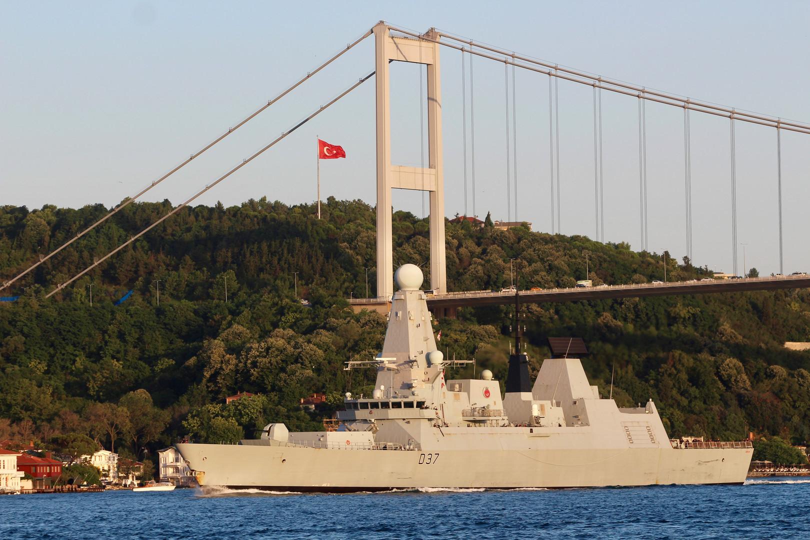 الأسطول الروسي على أهبة الاستعداد بعد دخول سفن للناتو مياه البحر الأسود
