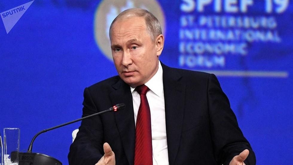 بوتين: مستعدون للاتفاق على الحد من التسلح إذا وافقت واشنطن