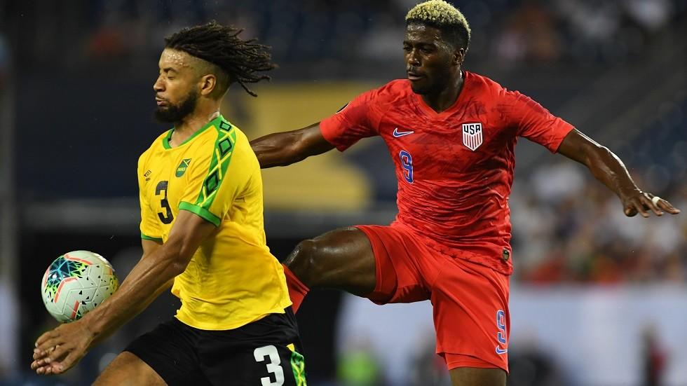 الولايات المتحدة تنهي مشوار جامايكا وتبلغ نهائي الكأس الذهبية
