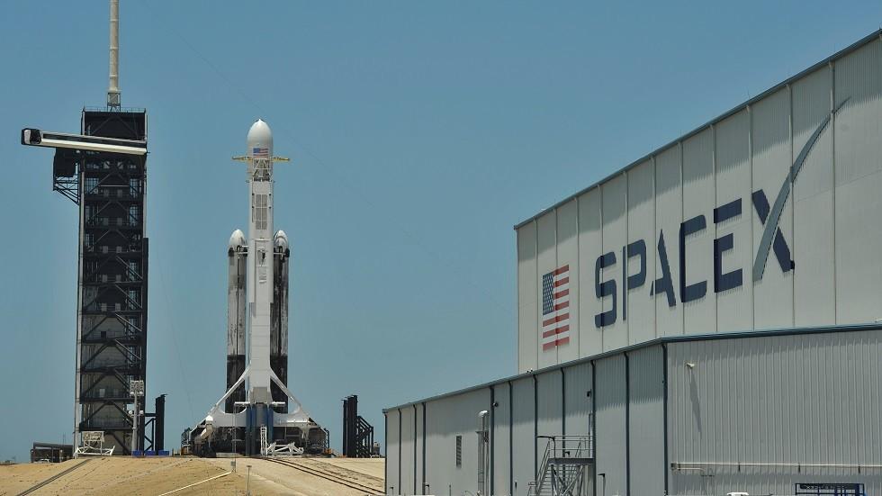 صورة أرشيفية لصاروخ Falcon Heavy الأمريكي