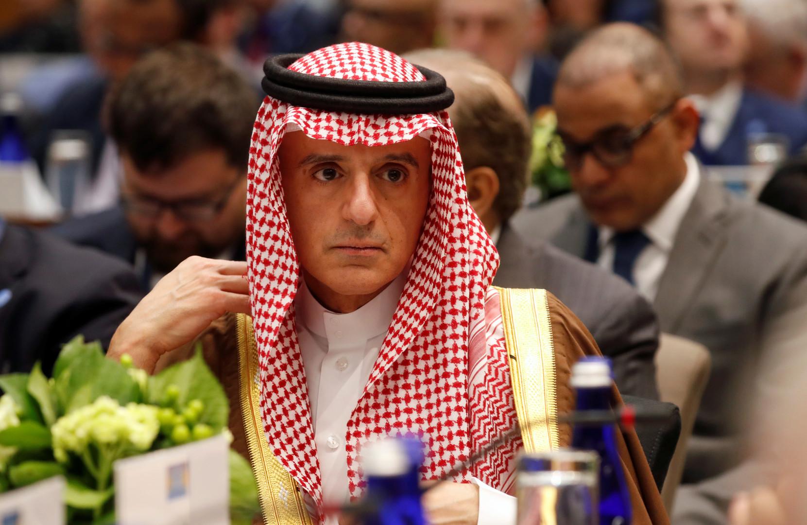 الجبير: إجراءات اقتصادية وعسكرية تدرس لتأمين الملاحة في الخليج