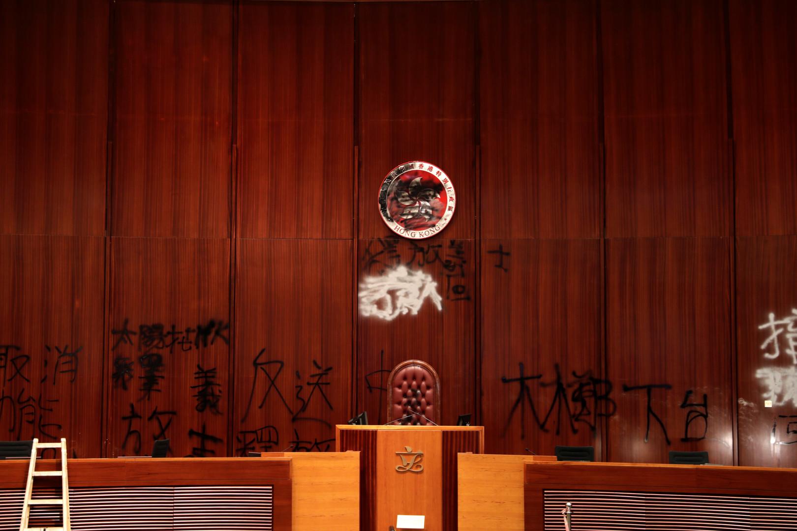 أعمال الشغب في هونغ كونغ تقوّي الصين