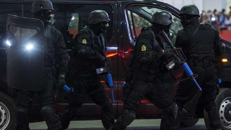 قوات الأمن في المغرب - أرشيف