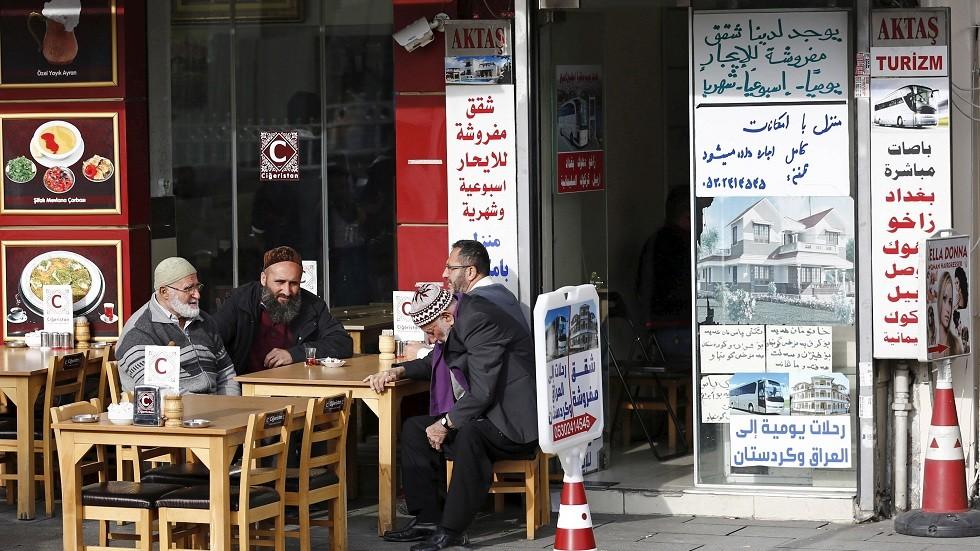 سلطات اسطنبول تتخذ إجراءات ضد محلات تجارية تستخدم لافتات عربية