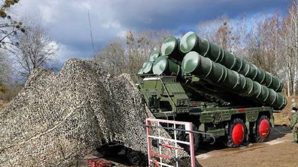 صواريخ إس-400 الروسية المضادة للأهداف الجوية