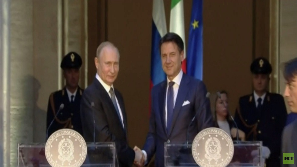 بوتين: حلف الناتو مسؤول عن تدمير ليبيا