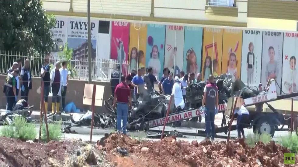 قتلى جراء تفجير بولاية هاتاي جنوب تركيا