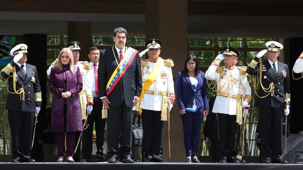 مادورو يعلن عن مناورات عسكرية في فنزويلا